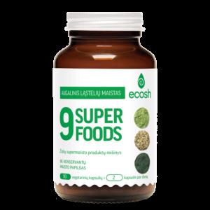 9-Superfoods, 90 kapsulių