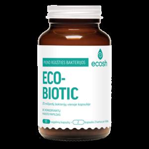 Ecobiotic probiotikai, 90 kapsulių