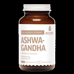 Ashwagandha maisto papildas, 90 kapsulių