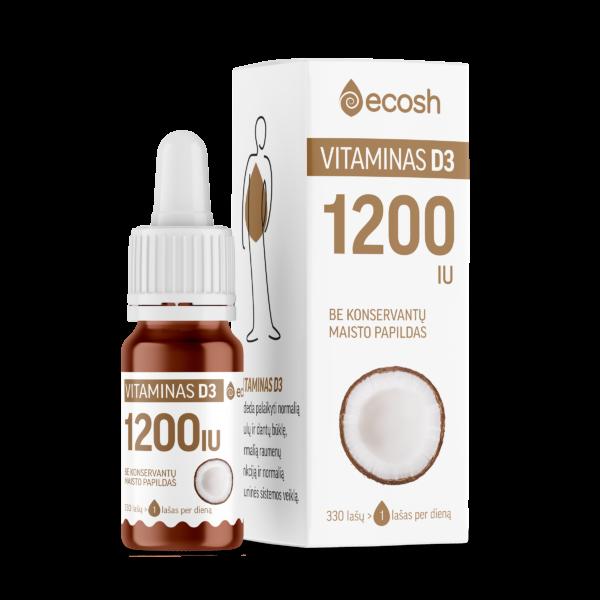 vitaminas D3 1200IU