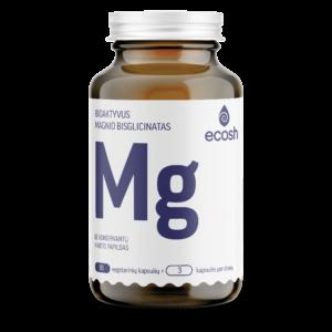 Bioaktyvus Magnis su vitaminais C ir B6, 90 kapsulių