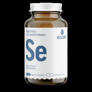 Bioaktyvus Selenas, 90 kapsulių