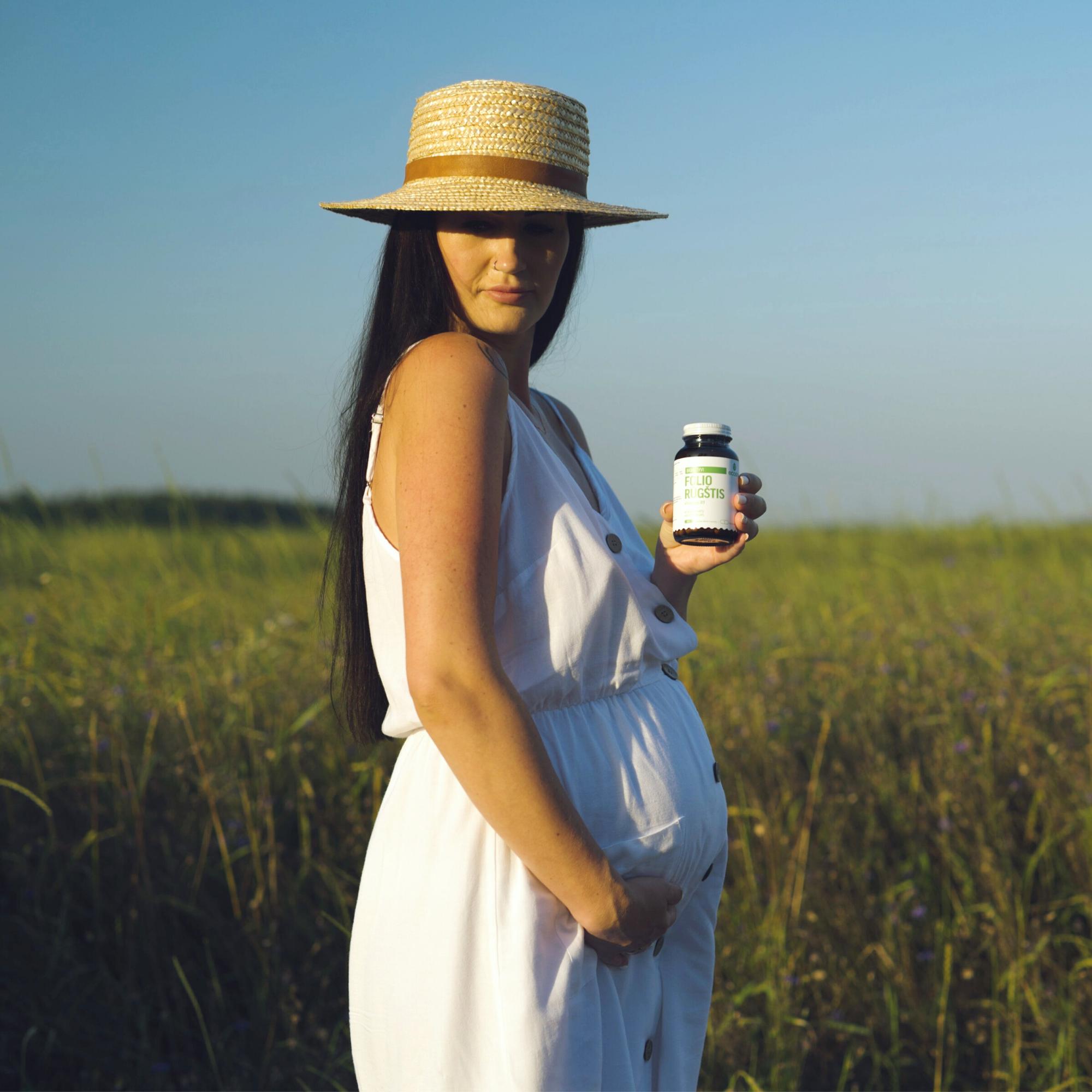 Nėštumas ir maisto papildai